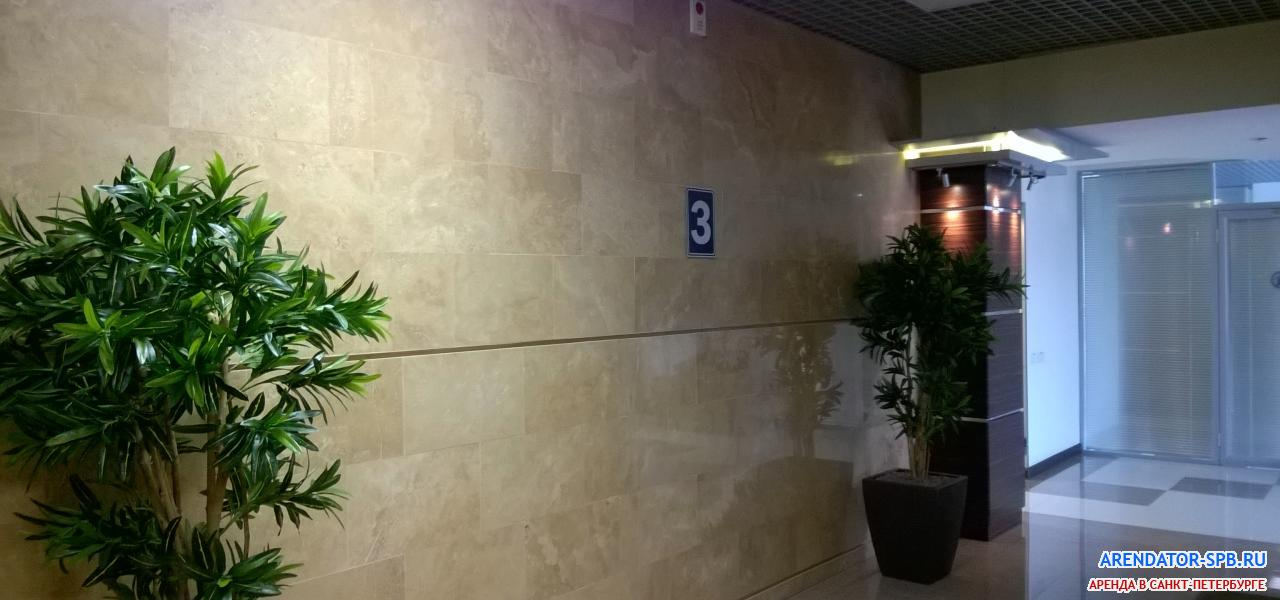 бизнес-центр «BRONCOS» : Лифтовый холл - Лифтовый холл на этажах