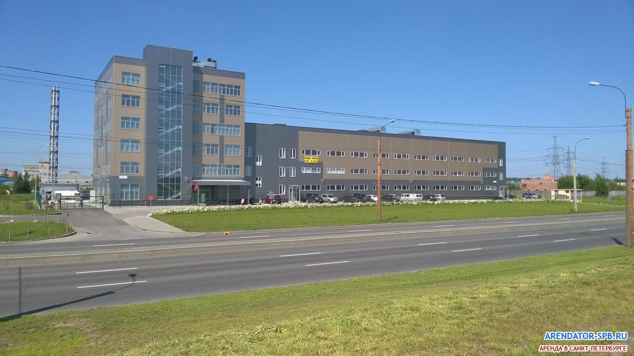 бизнес-центр «BRONCOS» : Фасад - Вид с Индустриального проспекта